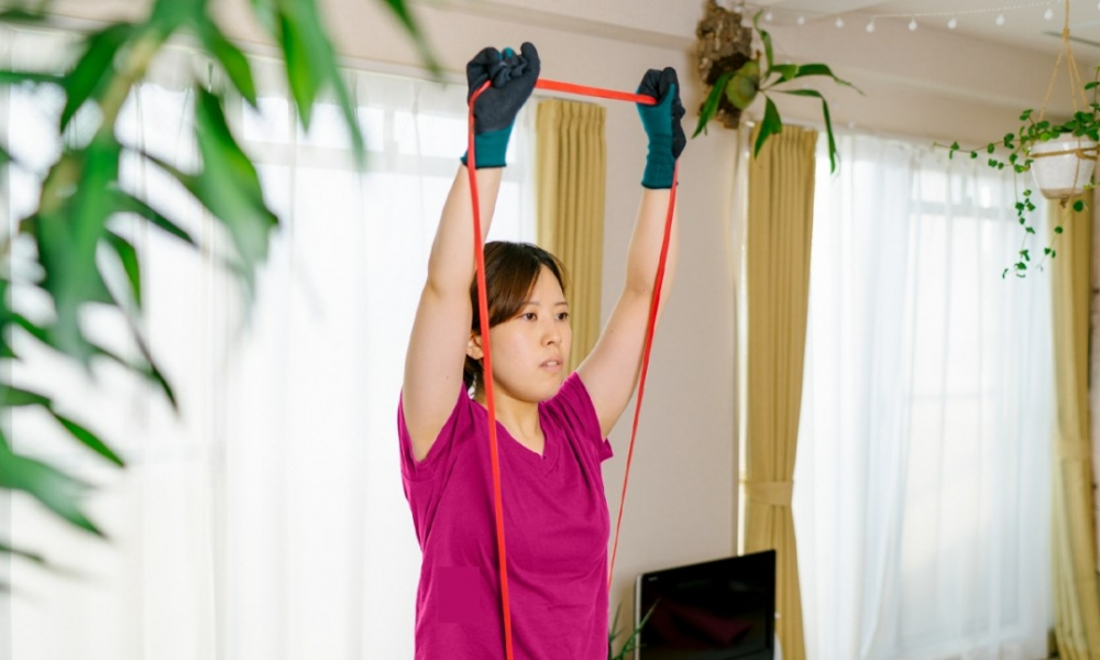shoulder exercises with bands