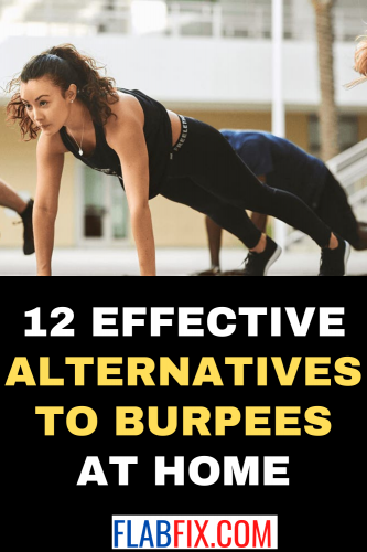 12 Effective Alternatives To Burpees At Home