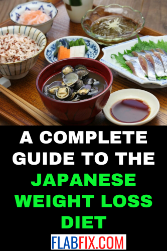 A Complete Guide to The Japanese Weight Loss Diet