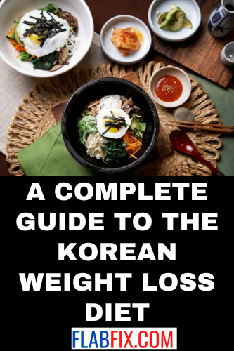 A Complete Guide to the Korean Weight Loss Diet