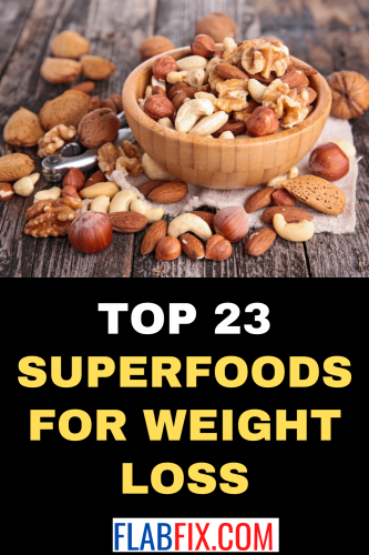 Top 23 Superfoods for Weight Loss