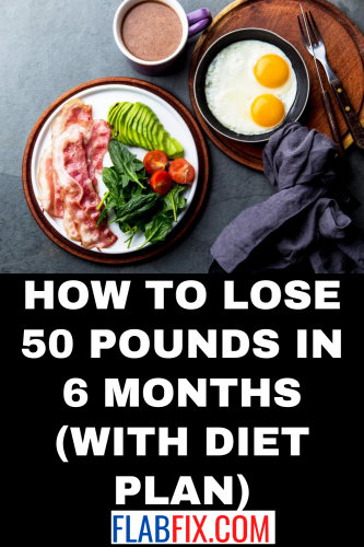 How to Lose 50 Pounds in 6 Months (with Diet Plan)