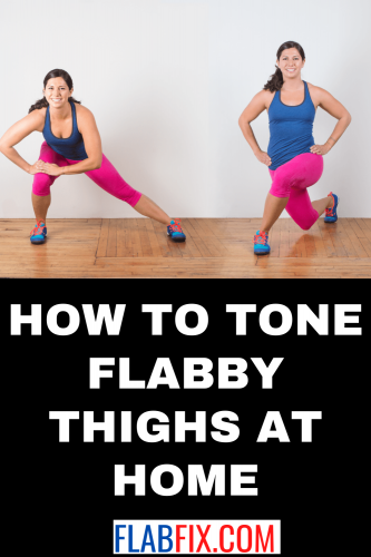 How to Tone Flabby Thighs at Home